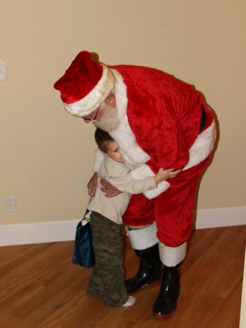 Saying goodbye to santa